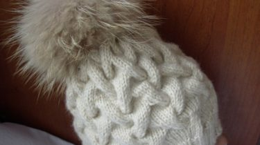 шапка ,схема. араны, спицами