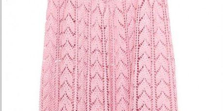 юбка, схема, вязание крючком