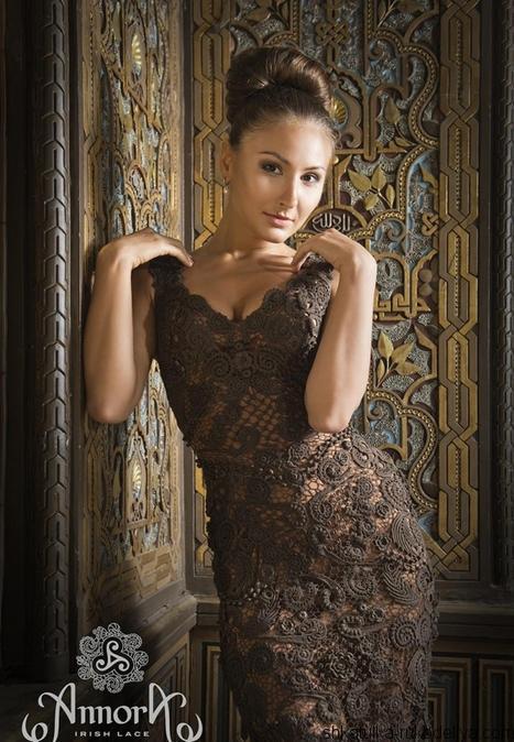 платье, ирландские мотивы, кружево