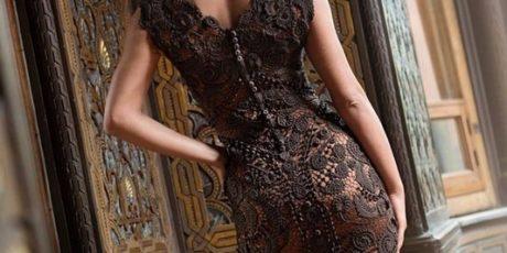 платье, ирландское кружево, схемы, вязание крючком
