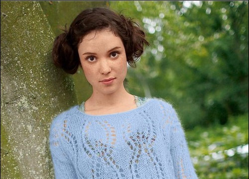 вязание спицами, пуловер, для женщин, схема, мохер, воздушный