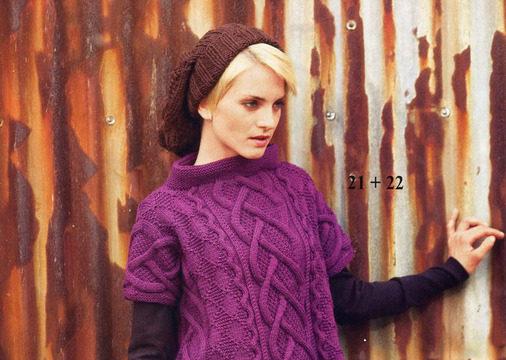 вязание спицами, пуловер, для женщин, узор ромб, короткий, схема, описание