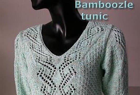 вязание спицами, туника, женская, ажурная планка,схема, описание, модная
