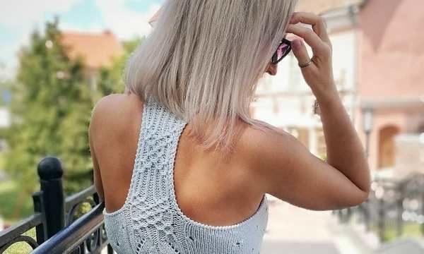 вязание спицами, топ, схема, женский, летний, модный, из хлопка, японский узор