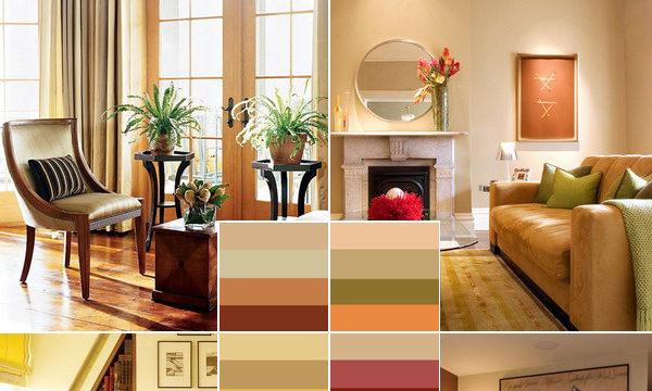 Цветовая гамма квартиры